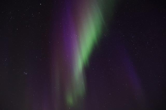 krása polární záře