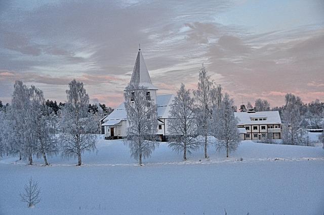 krása bydlení na severu