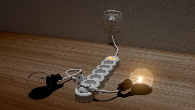 světýlko v žárovce