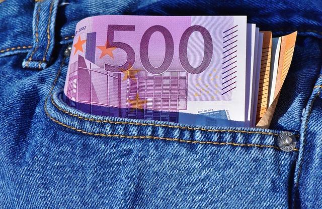 eura v kapse