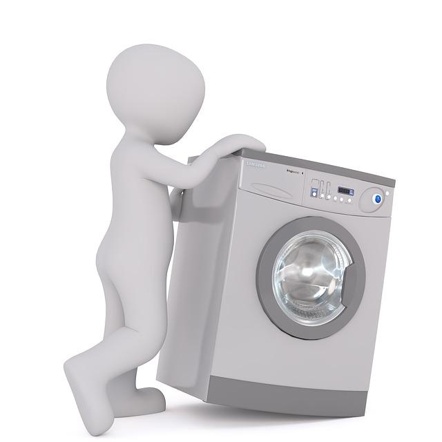panáček u pračky