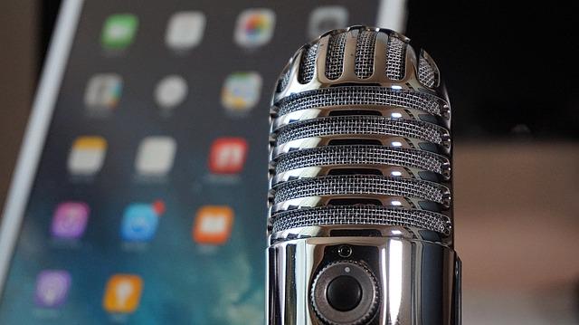 mikrofon s telefonem